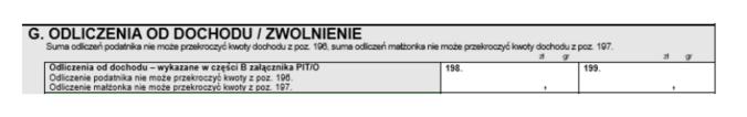PIT-36 – formularz służący dorozliczenia m.in. dochodów zdziałalności gospodarczej opodatkowanych wg skali