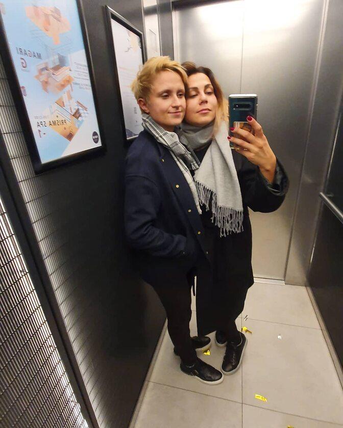 Krystyna z partnerką