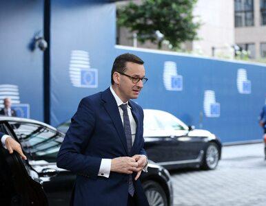Premier Morawiecki: Pokazaliśmy, że naciski na Polskę to nie jest droga...