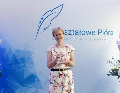 """Dziennikarka """"Wprost"""" nagrodzona. Katarzyna Pinkosz z nagrodą..."""