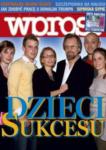 Okładka tygodnika Wprost nr 22/2005 (1174)