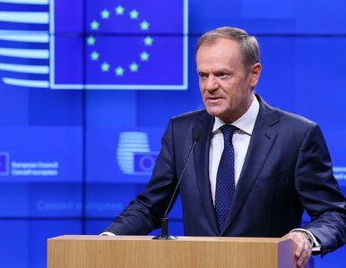 Donald Tusk: To będzie ważny tydzień dla Brexitu