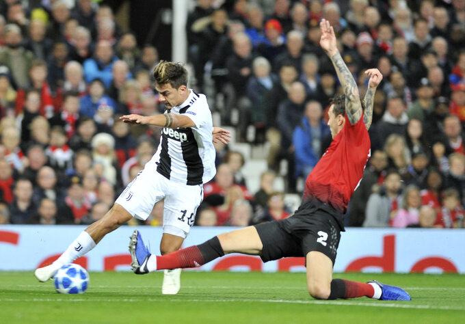 Mecz Ligi Mistrzów Manchester United -Juventus Turyn, rozegrany 23 października 2018r.