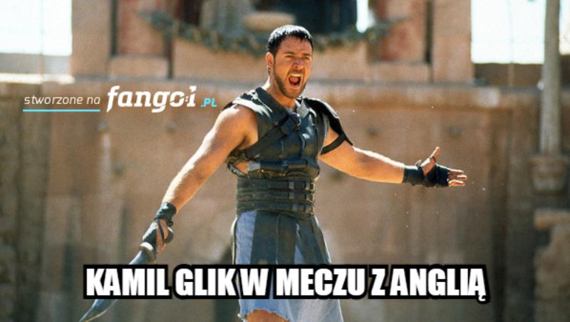 Kamil Glik jak Gladiator