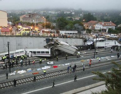 """Katastrofa kolejowa w Hiszpanii. """"Zrobiło się ciemno. Spadły na nas bagaże"""""""