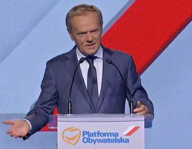 """Pierwsze słowa Tuska po powrocie.  """"Platforma jest potrzebna jako siła,..."""