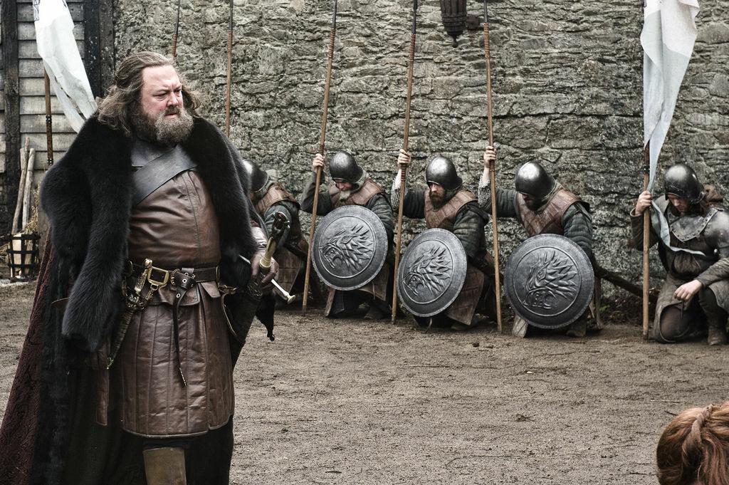 """Kadr z 1. sezonu serialu """"Gra o tron"""""""