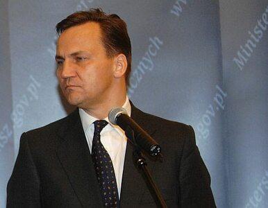 Radosław Sikorski: Ukrainie grozi poważny kryzys finansowy