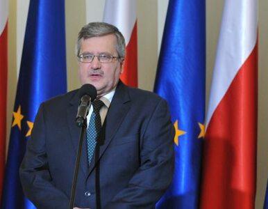 Komorowski: wątpimy w rzetelność białoruskich procedur