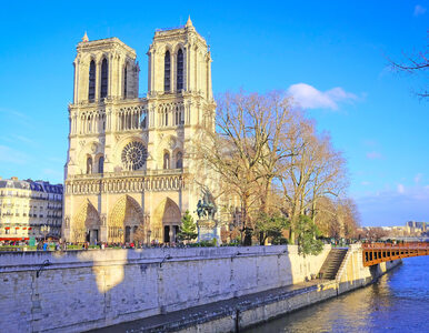 Podejrzany samochód koło katedry Notre Dame.  W środku m.in butle z...