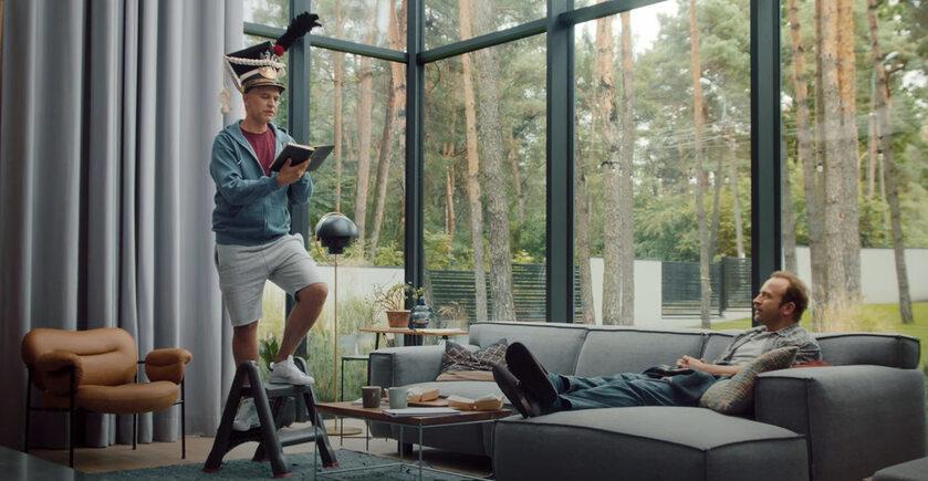 Reklama McDonald's. Występują Michał Żebrowski i Borys Szyc