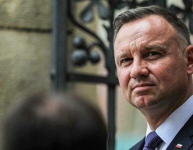 """Andrzej Duda: """"Chciałbym zakończyć kadencję z podniesioną głową"""""""