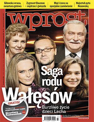 Okładka tygodnika Wprost nr 37/2011 (1492)