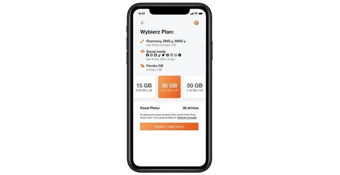 Smartfon zofertą Orange Flex