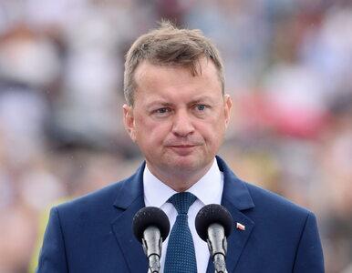 Ponad połowa Polaków chce dymisji Mariusza Błaszczaka za słowa o...