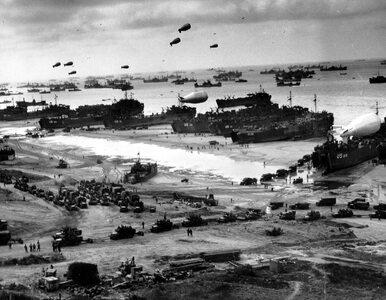 Lądowanie w Normandii. Niezwykłe zdjęcia kluczowej dla losów II wojny...