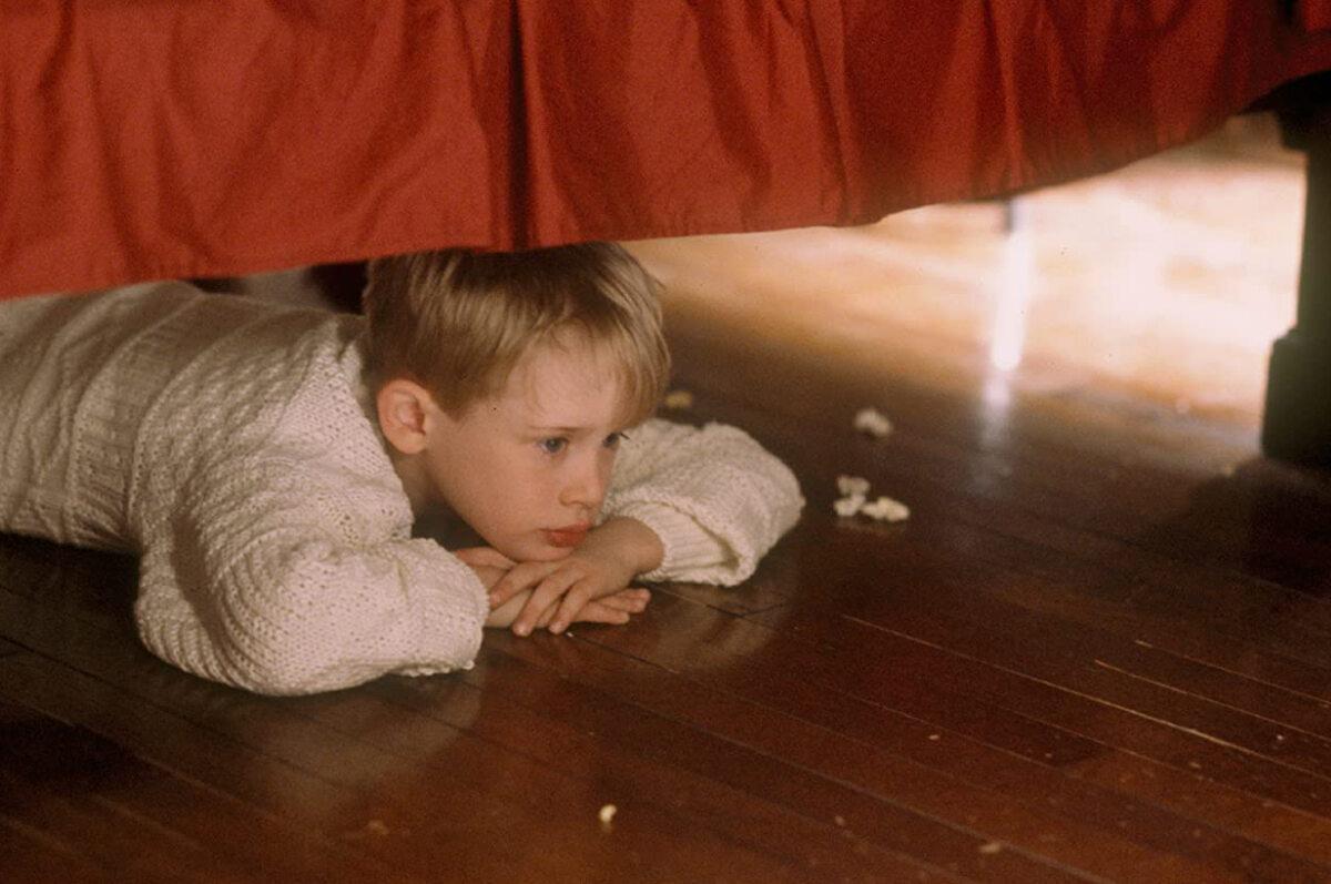 """Macaulay Culkin jako Kevin McCallister """"Kevin sam w domu"""""""