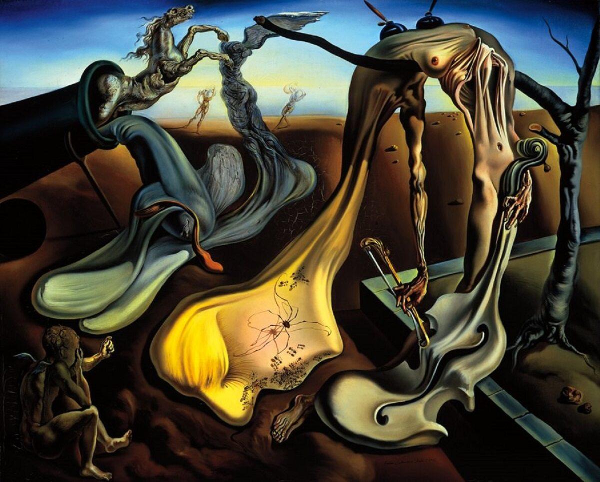 """Salvador Dali """"Spider Of The Evening"""" 1940 r."""