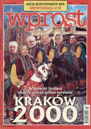 Okładka tygodnika Wprost nr 3/2000 (894)