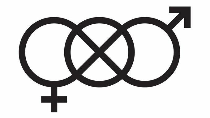 Symbol toalety dlaosób neutralnych płciowo
