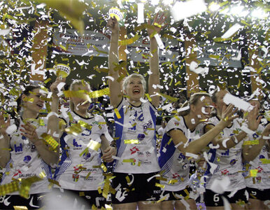 Siatkarki z Dąbrowy zdobyły PP, zagrają w Lidze Mistrzów