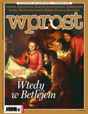 Okładka tygodnika Wprost nr 52/2010 (1455)