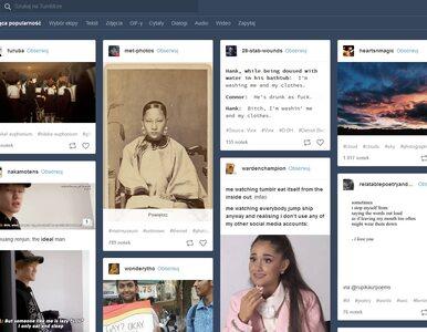 """Tumblr będzie blokować treści dla dorosłych. """"Musimy być odpowiedzialni"""""""