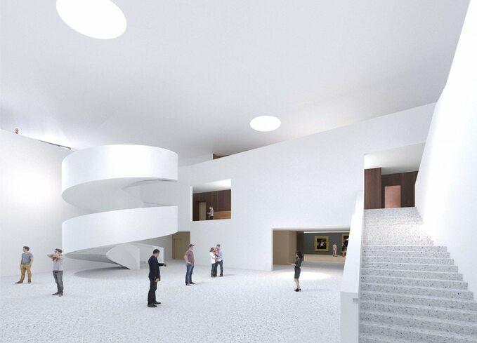 Ogród XXI wieku -Łazienki Królewskie -wizualizacja