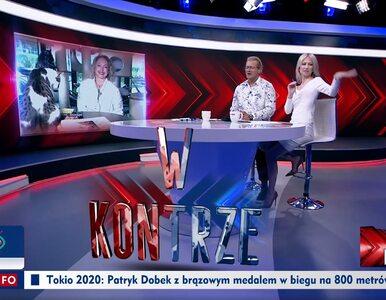 Niespodziewany gość na antenie TVP Info. Ogórek: Dzieją się tu zawsze...