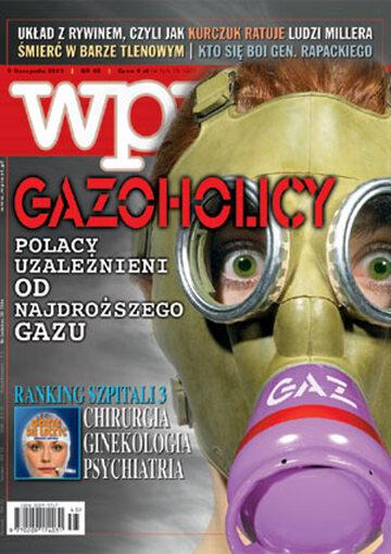 Okładka tygodnika Wprost nr 45/2003 (1093)