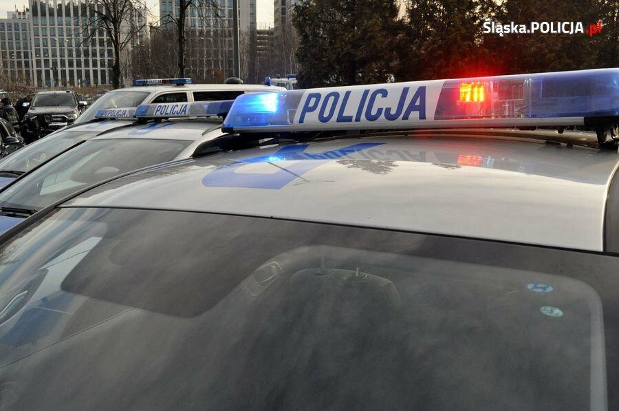 Nowe samochody śląskiej policji