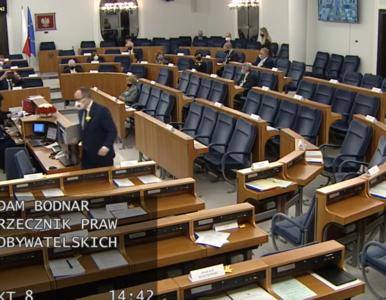 Adam Bodnar przemawiał w Senacie. Politycy PiS wyszli z sali