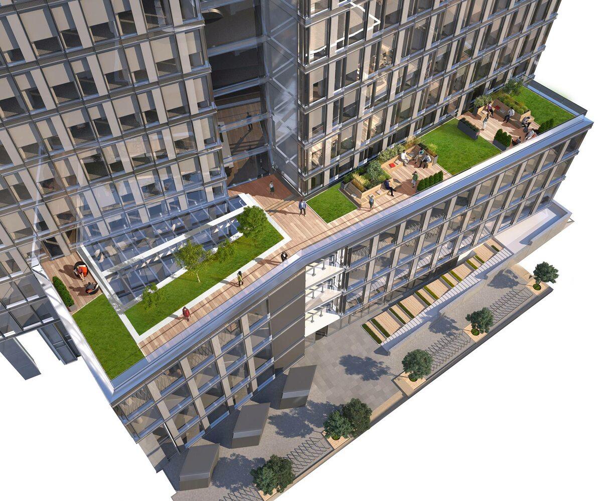 Widok Towers Wizualizacje Widok Towers