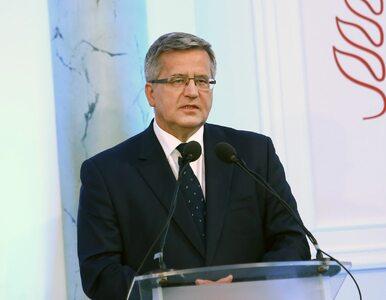 Bronisław Komorowski odpowiada Beacie Szydło i wskazuje na problem...