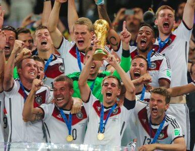 Niemieccy piłkarze... zniszczyli puchar świata