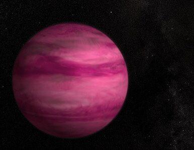 NASA odkryła różową planetę i ma problem