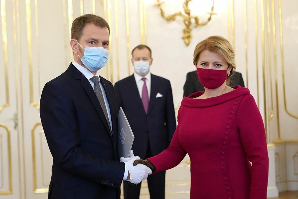 Powołanie nowego rządy na Słowacji przez prezydent Zuzanę Czaputową