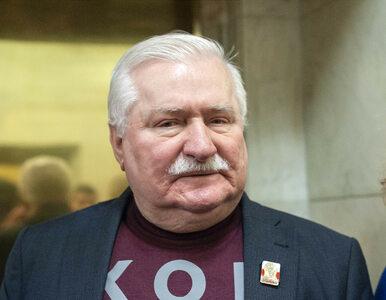 """Ostre słowa Wałęsy na Twitterze. """"Widzę że krawat również mózg ściska za..."""