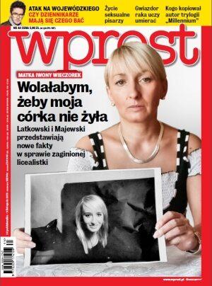 Okładka tygodnika Wprost nr 44/2013 (1601)