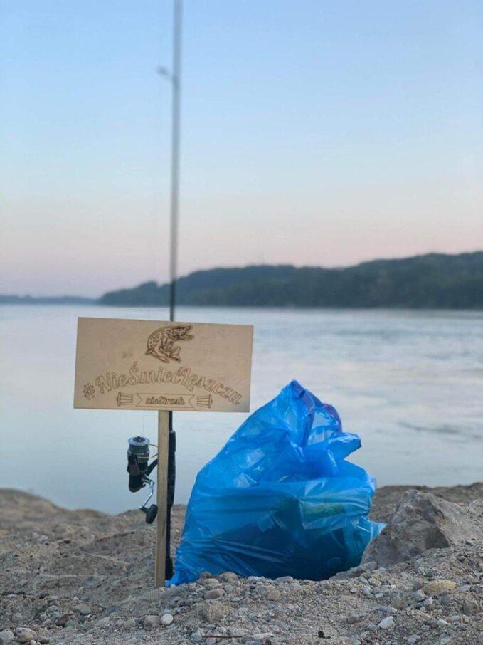 Przyjemne zpożytecznym. Łowienie ryb iśmieci
