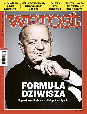 Okładka tygodnika Wprost nr 8/2011 (1463)