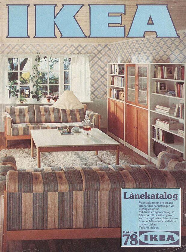 Okładka katalogu IKEA z 1978 roku