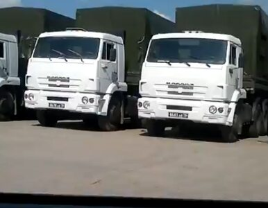"""""""Biały konwój"""" zawieszony na granicy. Moskwa się nicierpliwi"""
