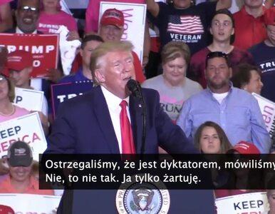 Trump żartuje o trzeciej kadencji. Przy okazji zakpił z mediów, które go...