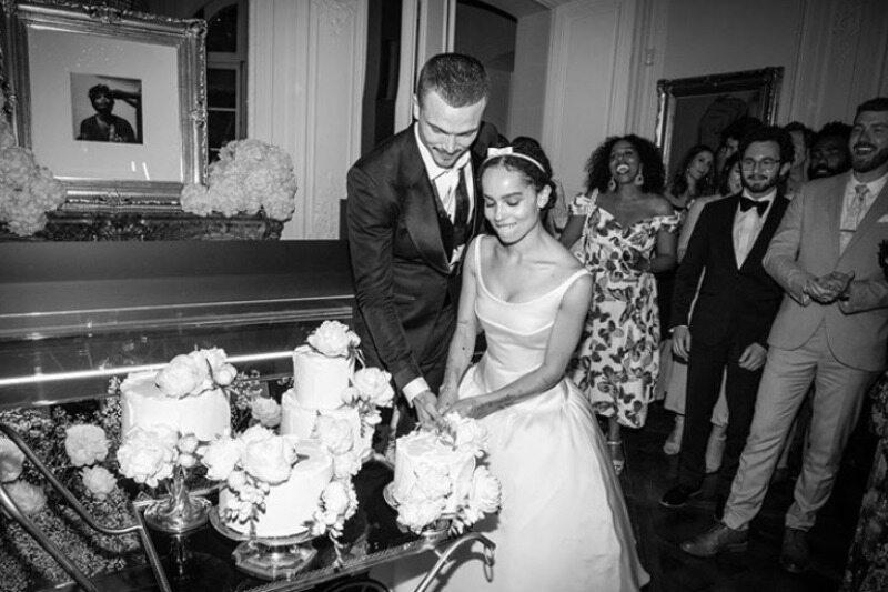 Ślub Zoe Kravitz i Karla Glusmana