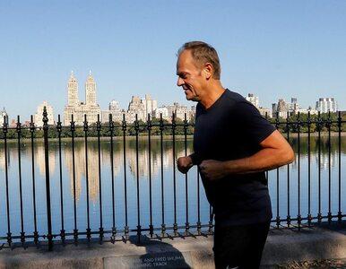 Donald Tusk biegał w Nowym Jorku. Pochwalił się zdjęciami