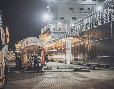 Paliwo LNG to przyszłość transportu morskiego na Bałtyku