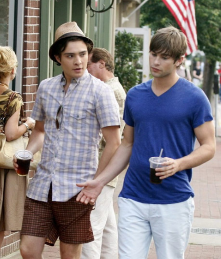 Chuck Bass (Ed Westwick) i Nate Archibald (Chace Crawford)
