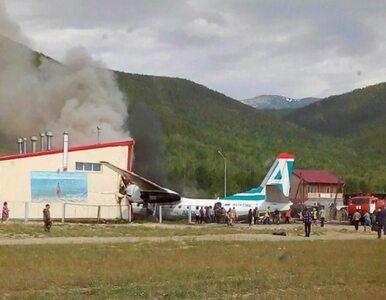Katastrofa pasażerskiego An-24 w Rosji. Jest nagranie z wnętrza samolotu