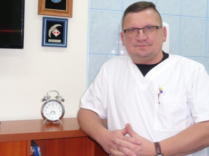 Szczepan Więckowski, pediatra, epidemiolog ilekarz rodzinny